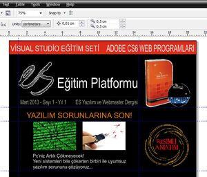 CorelDraw Konular emresupcin 300x256 - Corel Draw İle Dergi Kapağı Tasarımı Yapalım!