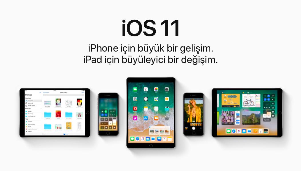 iOS11 Sonbaharda emresupcin - iOS 11 Geliyor! Pekii Gelen Yenilikler Neler?
